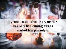 alkoholis kenksmingiausias